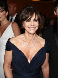 Actress Sally Field attends the 70th Annual Golden Globe Awards at the Beverly Hilton Hotel on Sunday Jan. 13, 2013, in Beverly Hills, Calif. (Photo by Matt Sayles/Invision/AP)